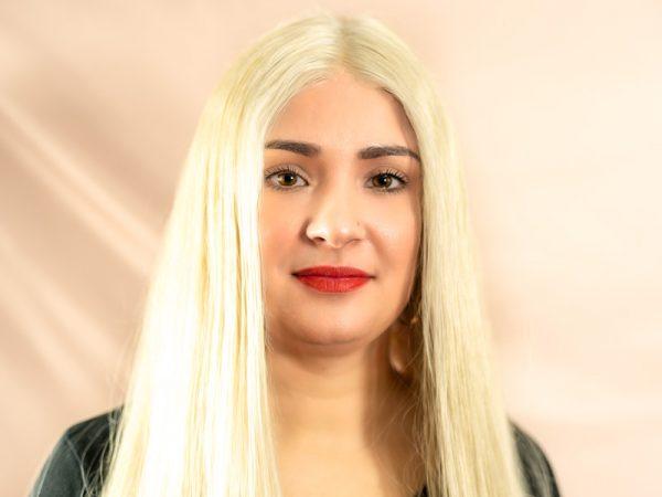 raw hair blond