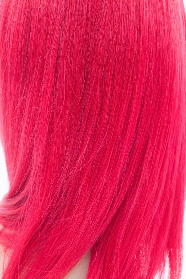 lace wig rouge