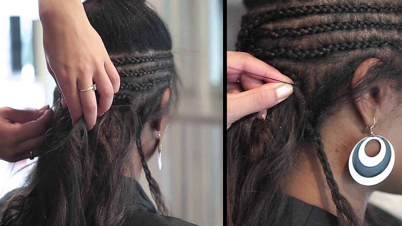 coiffure tissage